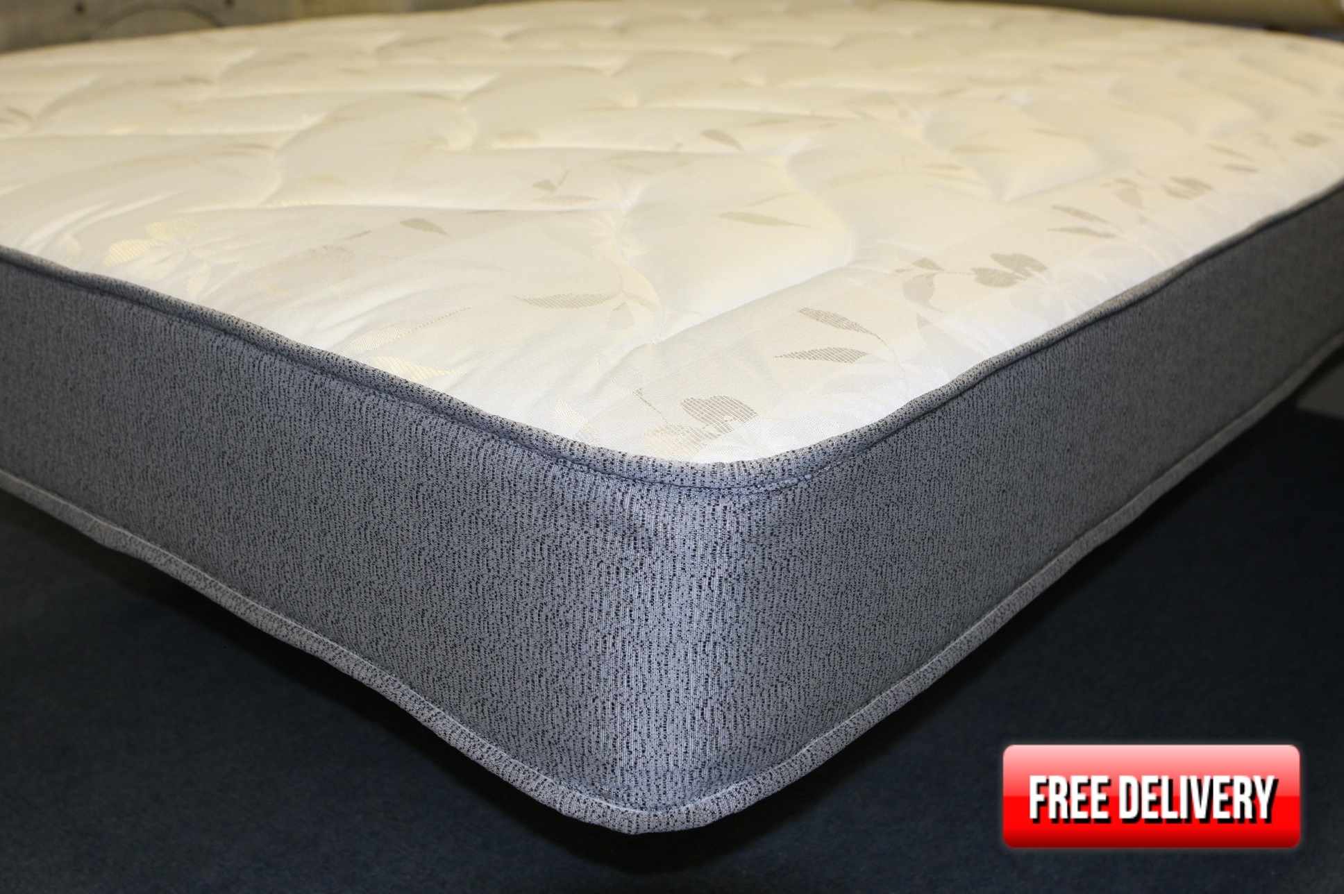 2ft6 Small Single Comfy Sprung Mattress