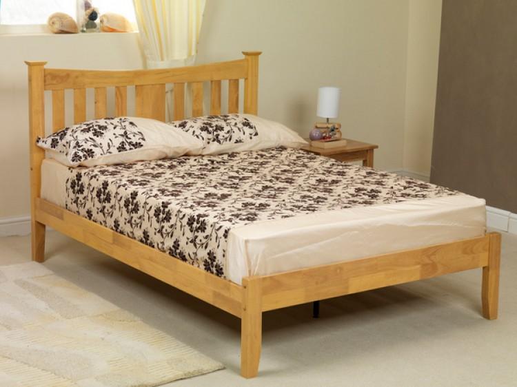 on sale 0ec00 e82c5 3ft Arkley oak finish wood bed frame